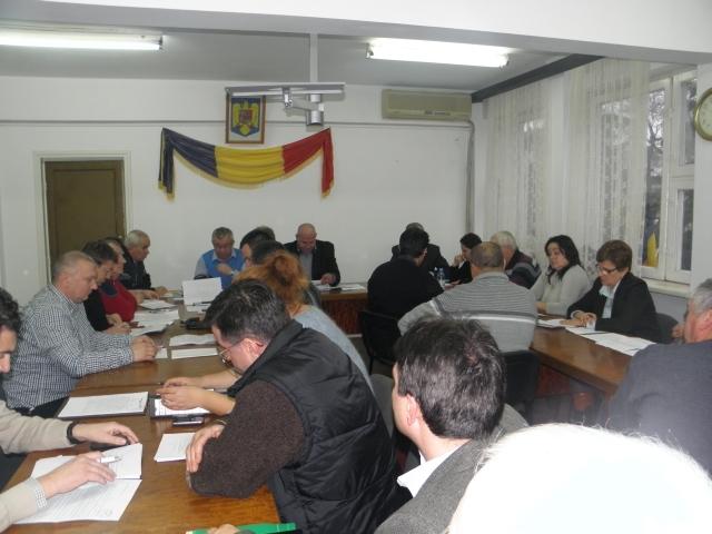Sedinta Ordinara a Consiliului Local Oltenita, Ianuarie 2013