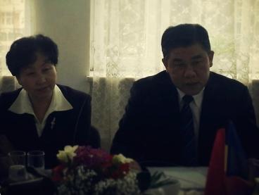 ambasadoarea Republicii Populare Chineze în România, Huo Yuzhen
