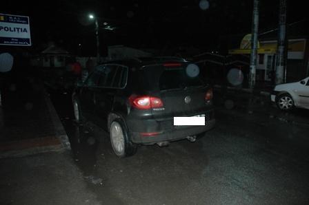 Autovehicul marca VW Tiguan a fost recuperat