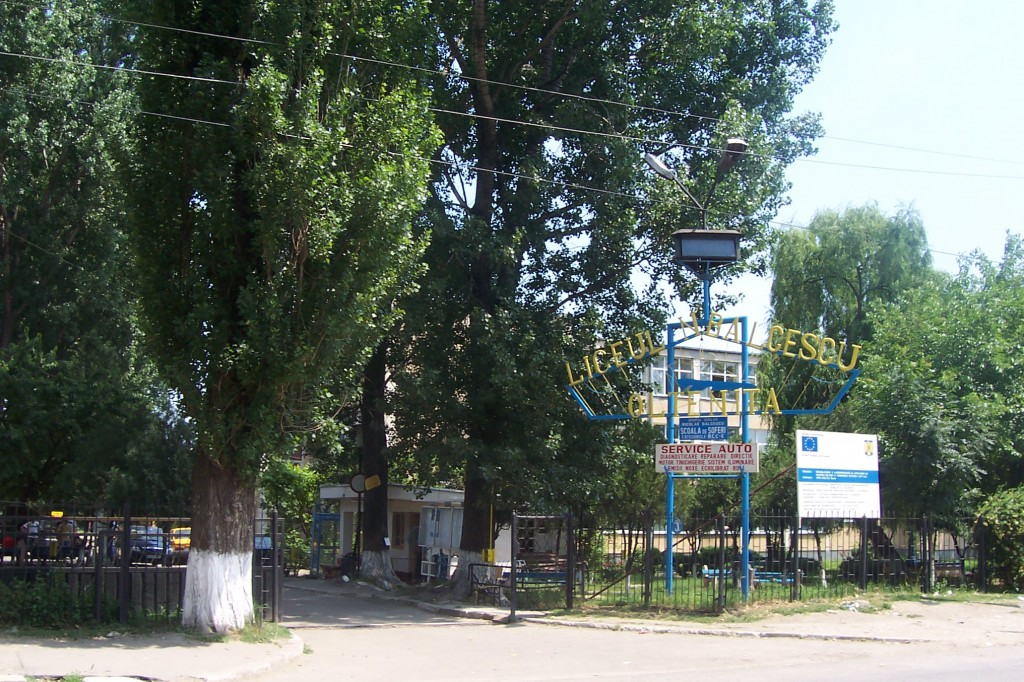 "Liceul Tehnologic ""Nicolae Balcescu"" | foto arhiva"