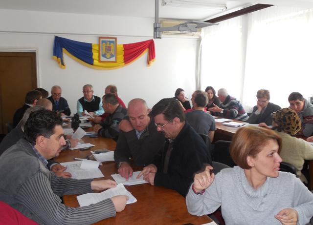 Sedinta Consiliului Local Oltenita | Martie 2013
