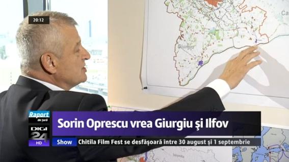 Oltenita, in planul de regionalizare al lui Sorin Oprescu
