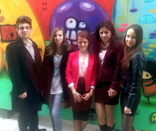 Alexandra, Anda, Cristiana si Andrei, elevi eminenti