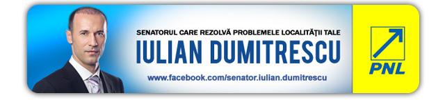 Senator Iulian Dumitrescu